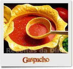 INGREDIENTES  1,5 kg de tomates maduros 1 pimiento verde 1 pepino mediano 1 cebolla pequeña 4 dientes de ajo sal 4 cucharadas de aceite de oliva 5 cucharadas de vinagre de vino jamón huevo pasado por agua