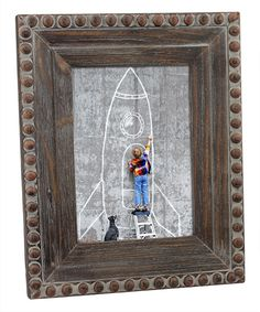 Take a look at this Wood Rivet Frame today!