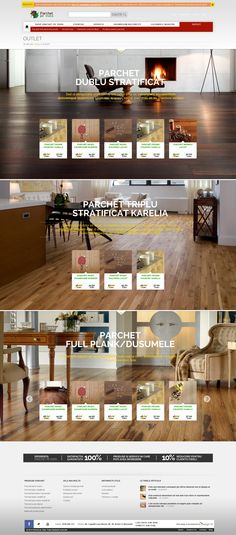 Outlet page for parchetpeviata.ro #outletparquet very beautiful #parquetry products