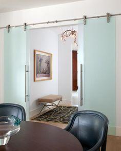 puertas correderas cristal - Home Interior Design Ideen Schlafzimmer