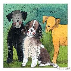 Alex Clark Art - Daisy Dougal and Duke