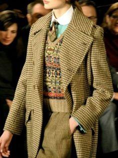 Handwoven Harris Tweed - a classic