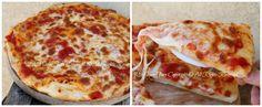 Focaccia facile morbida con pomodoro e mozzarella