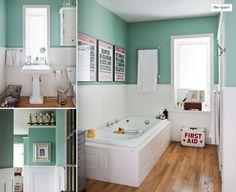 What a cool idea for a bathroom!