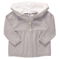 Hooded Sweater Knit Cardigan from carter's $16 I want this for myself! BOUGHT