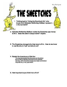 The sneetches worksheets free worksheets library download and dr seuss worksheets for middle school studimages sciox Choice Image