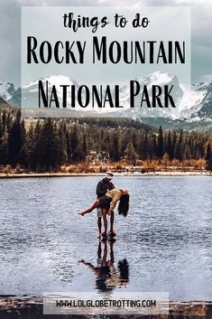 The best things to do in Rocky Mountain National Park in Colorado, USA. A list of the top hikes and a travel itinerary for your trip that will lead you to the best sights, beautiful lakes, wildlife an Colorado Hiking, Colorado Mountains, Rocky Mountains, Colorado Usa, Bear Lake Colorado, Mountain Vacations, Mountain Hiking, Rocky Mountain National Park, Yellowstone National Park