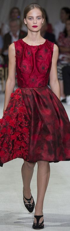Oscar de la Renta Collection Spring 2016 Ready-to-Wear