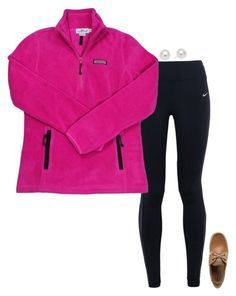 """""""{I have to wake up at 4:15 AM tomorrow}"""" by preppy-southern-girl-1-2-3 ❤ liked on Polyvore featuring NIKE, Vineyard Vines, Sperry and Pearlyta"""