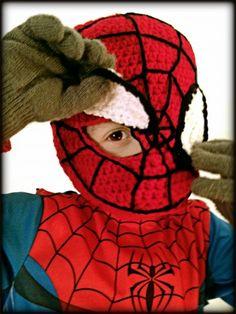 For my Superhero... Spiderman Mask - mellie blossom