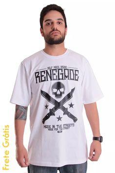 Camiseta Made In Renegade X California Store Hip Hop, Rap - R$ 59,00 em Mercado Livre