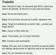 Traición uploaded by Clary Fray on We Heart It Clary Fray, Clary Y Jace, Teen Wolf Memes, Hush Hush, Forever Book, Jace Wayland, Shadowhunters The Mortal Instruments, Im Selfish, The Infernal Devices
