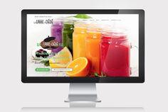Site vitrine VRAC A DEDE http://vracadede.fr/ // Sofia Doudine Graphiste Webdesigner B2B Freelance