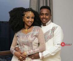 Image may contain: 2 people, people standing Ethiopian Wedding Dress, Ethiopian Dress, Habesha Kemis, Eritrean, Ethiopian Traditional Dress, Traditional Wedding Dresses, Boho Dress, African Fashion, Wedding Photos