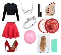"""""""Untitled #31"""" by sselmanagic ❤ liked on Polyvore featuring Schutz, Kate Spade, Eos, Chanel and The Body Shop"""