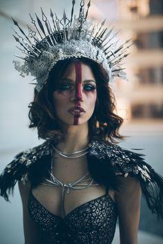 """""""The Queen"""" — Photographer: Nova Garza Headpiece/Makeup: Whitney Alexis Model: Belicia Brewer"""