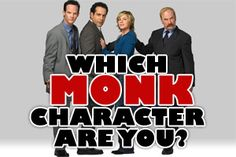Which Monk Character Are You? - BuddyTV