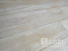 Lafaenza Sierra Beige Rett. 16.5x100cm Licht beige genuanceerd, verouderd oppervlak Keramisch Hout / Keramisch Parket