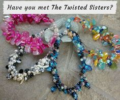 Want to make a serious statement with your jewelry? Wear A Twisted Sister OOAK Statement Necklace! Be prepared for lots of compliments.