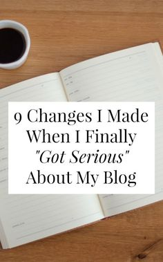 Let's begin by acknowledging that is it COMPLETELY RIDICULOUS that I've been blogging for almost nine years and it's only now that I've, uh, started taking it seriously. If you've been reading Yes &