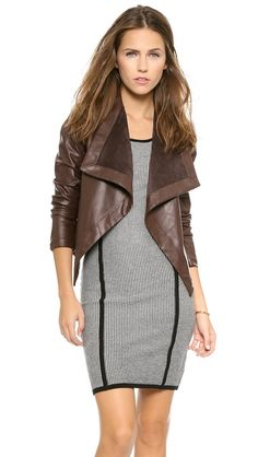 A little birdy told me the Shopbop F&F sale starts tomorrow morning...at which time I'll be grabbing this jacket :)
