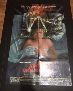 Nightmare on Elm Street Movie poster Original