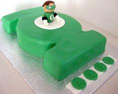 Green Lantern Cake