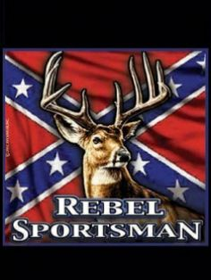Confederate Flag Wallpaper for PC | Rebel Sportsman Wallpaper 240x320 deer, flag, rebel,