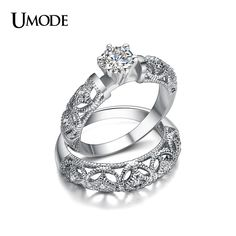 UMODE Famous Brand Luxury Jewelry Fine Carving Filigree Band AAA CZ Diamond Wedding Ring Sets For Women Anillos Gift AUR0130♦️ B E S T Online Marketplace - SaleVenue ♦️👉🏿 http://www.salevenue.co.uk/products/umode-famous-brand-luxury-jewelry-fine-carving-filigree-band-aaa-cz-diamond-wedding-ring-sets-for-women-anillos-gift-aur0130/ US $4.69