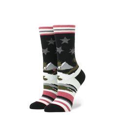 Stance Women s Exodus Black Socks Size Small 5 - 7.5 323c9797e1a