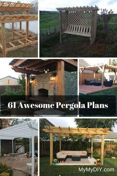 Pergola Aluminium Outdoor Living - - Modern Pergola DIY How To Build - - Diy Pergola, Free Pergola Plans, Free Standing Pergola, Pergola Decorations, Building A Pergola, Pergola Canopy, Pergola Swing, Outdoor Pergola, Pergola Lighting