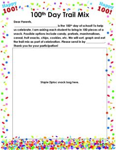 Happy 100! Celebrate the 100th Day of School with Engaging, No-Prep Activities