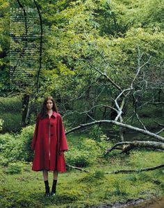 Sasha, Eva and Polina by Osamu Yokonami for Spur September 2015 - DIOR Fall 2015