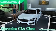 Sims 4 CC's - The Best: Mercedes-Benz CLA-Class by LorySims