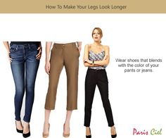 How To Make Your Legs Look Longer ← Paris Ciel - EN