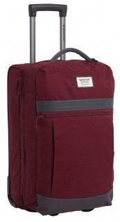 Reisetasche Burton Charter Roller Trolley Port Royal weinrot - Bags & more Airline Travel, Travel Bag, Port Royal, Bags, Zipper Pulls, Dividers, Design, Compact, Essentials