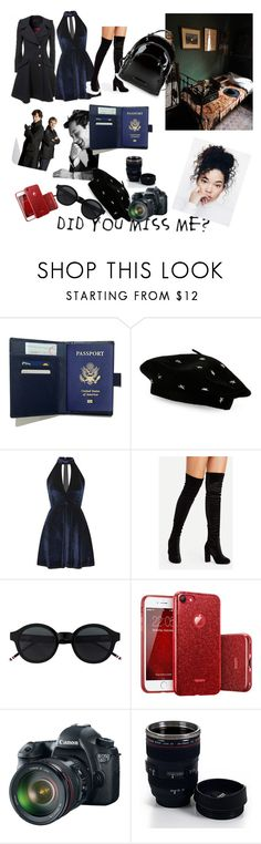 """moriarty half sister"" by xxshadowlunaxx on Polyvore featuring Steve Madden, Oh My Love, Eos, Whetstone Cutlery and Kendall + Kylie"