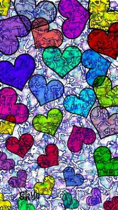 Hearts Wallpaper For Your Phone, Heart Wallpaper, Love Wallpaper, Cellphone Wallpaper, Mobile Wallpaper, Cocoppa Wallpaper, Wallpaper Backgrounds, Holiday Wallpaper, Origami