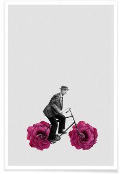 Frühling als Premium Poster von typealive | JUNIQE