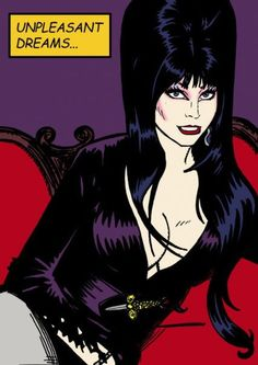 All hail The Mistress Of The Dark. Arte Horror, Horror Art, Horror Movies, Cassandra Peterson, Monster Party, Monster Mash, Vintage Glamour, Elvira Makeup, Kitsch
