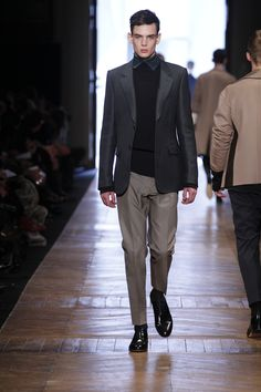 CERRUTI 1881 Paris Menswear Fashion Show - FW 2013 2014 - LOOK 17