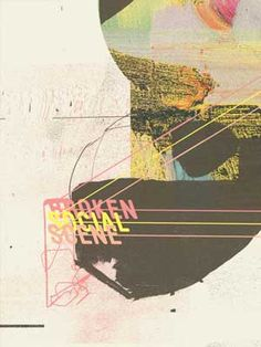 Broken Social Scene Tour Poster by Insound posters