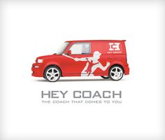 HEY COACH - Vehicle Wrap - www.brendanmahn.com