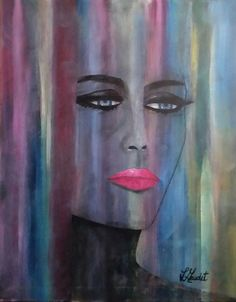 Hiding by L Gaudet on Etsy. Visit lgaudetart.ca to view more paintings.