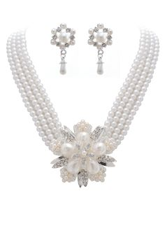 Jewelry - $19.99 - Elegant Alloy With Pearl/Rhinestone Ladies' Jewelry Sets (01105011057)