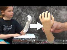 Lifecasting Tutorial: Hand Mold With PlatSil Gel-10 - YouTube