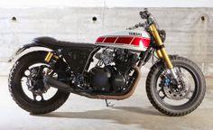 RocketGarage Cafe Racer: XJ 900 by Tarmac Custom Motorcycles