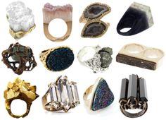rough stone jewelry - Cerca con Google