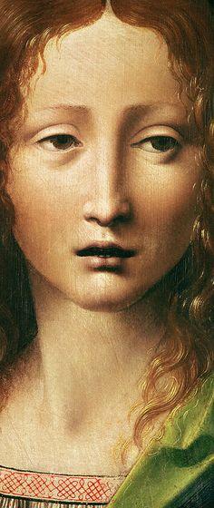 Head Of The Savior Painting  - Head Of The Savior Fine Art Print