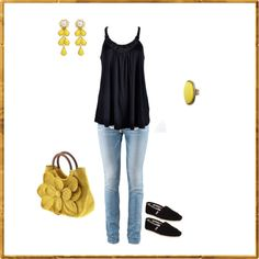 Untitled #27, created by heatherbelle37.po... Add a cardigan and I am good to go for spring! <3